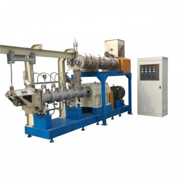 Advanced Industrial Double-Shaft Floating Aquafeed Feed Fodder Pellet Extrusion Drying and Flavoring Making Machine Price