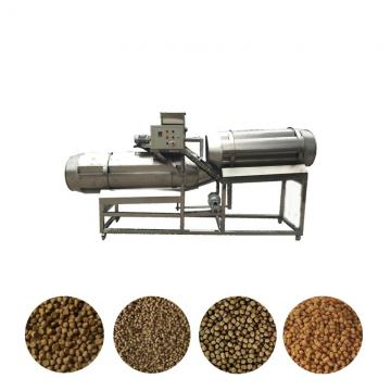Industrial or Fishery Dry Animal Pet Dog Cat Floating Sinking Fish Feed Pellet Production Making Extrusion Extruder Machine