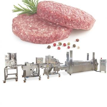 Disposable PS Foam Meat Equipment Automatic Hamburger Box Vacuum Forming Machine
