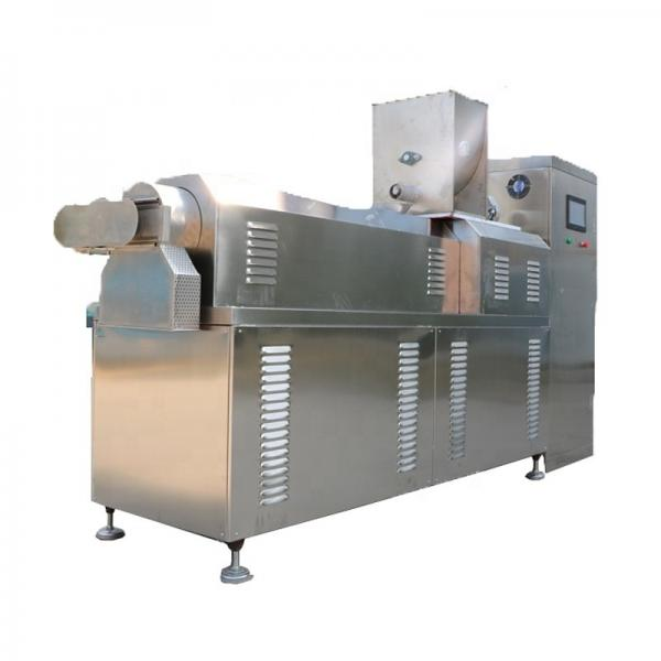 Fully Automatic Dry Dog Cat Bird Fish Food Making Snack Machine/Production Line with Ce #1 image