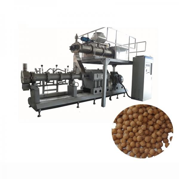 China Factory Floating Fish Feed Pellet Extruder Pet Food Making Machine #1 image