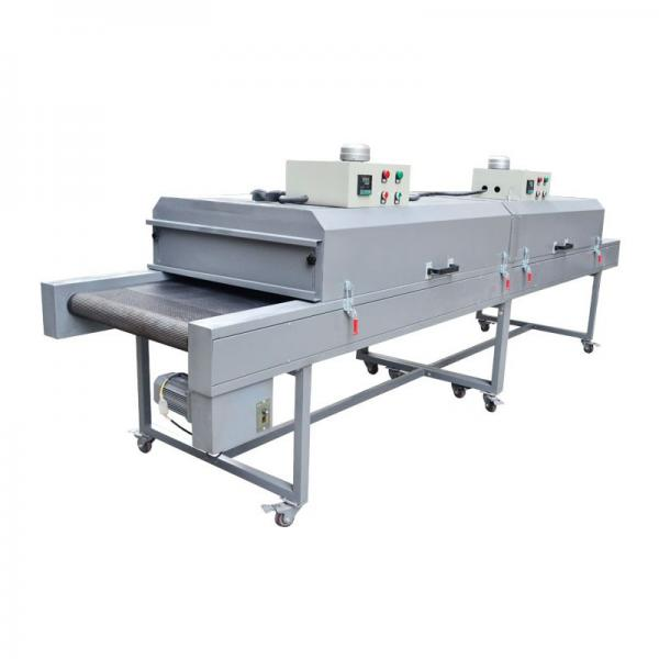 7m length Multifunction Infrared ray Hot air conveyor Drying Tunnel with preheating zone and cooling zone #2 image